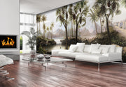 nature Wall Decor, Promised Land Panoramic Mural, beautiful natural decor, nature inspired designs, best home decor, Forest Homes