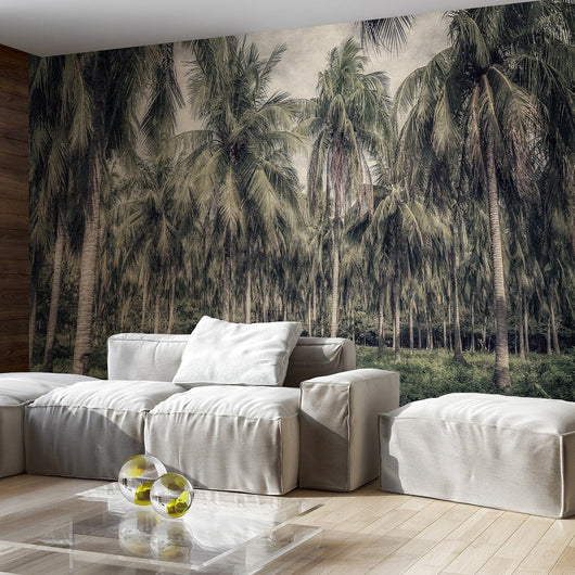 nature Wall Decor, Palm Jungle Wallpaper, beautiful natural decor, nature inspired designs, best home decor, Forest Homes