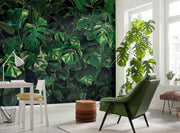 nature Wall Decor, All in Monstera Mural Wallpaper, beautiful natural decor, nature inspired designs, best home decor, Forest Homes