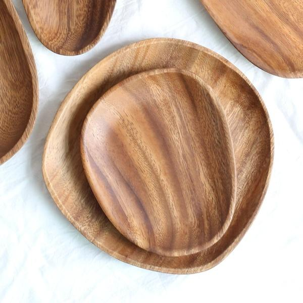 Andean Handcrafted Wood Trays (One or Set)