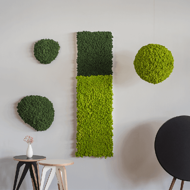 nature Wall Decor, Artic Rectangular Moss Wall Art, beautiful natural decor, nature inspired designs, best home decor, Forest Homes