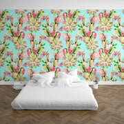 nature Wall Decor, Sweet Cactus Mural Wallpaper (m²), beautiful natural decor, nature inspired designs, best home decor, Forest Homes