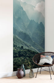 nature Wall Decor, Clear Peaks Mural Wallpaper, beautiful natural decor, nature inspired designs, best home decor, Forest Homes
