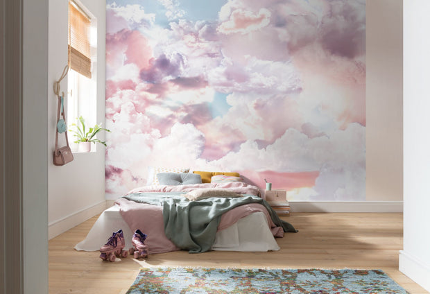 nature Wall Decor, Cloud Dreaming Wallpaper Mural, beautiful natural decor, nature inspired designs, best home decor, Forest Homes