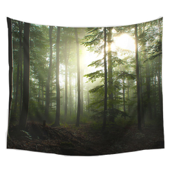 Nature decor, Wall Decor, Dawn Tapestry, Beautiful Natural Decor, Nature inspired Design, home decor, Forest Homes