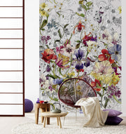 nature Wall Decor, Delicate Garden Mural Wallpaper, beautiful natural decor, nature inspired designs, best home decor, Forest Homes