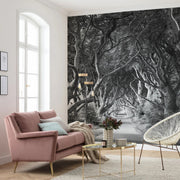 nature Wall Decor, Emerald Journey Mural Wallpaper, beautiful natural decor, nature inspired designs, best home decor, Forest Homes