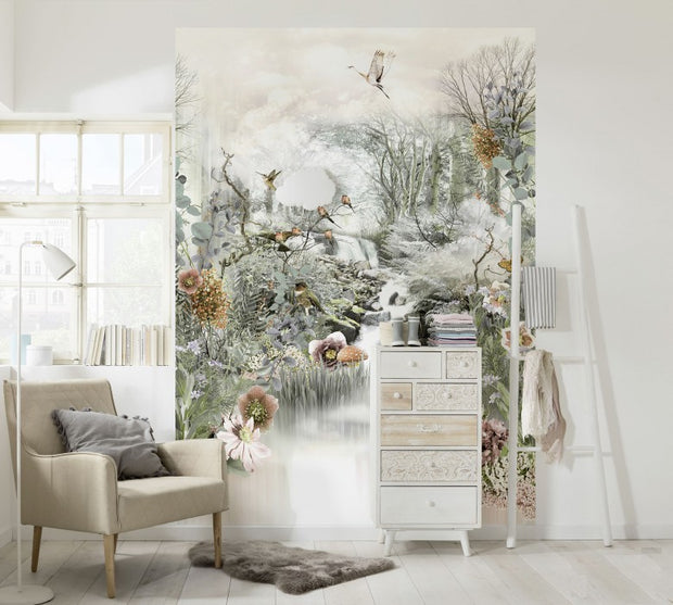 nature Wall Decor, Enchanted Forest Mural Wallpaper, beautiful natural decor, nature inspired designs, best home decor, Forest Homes