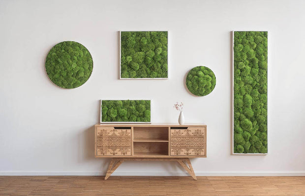 nature Wall Decor, Forest Green Moss Wall Art, beautiful natural decor, nature inspired designs, best home decor, Forest Homes