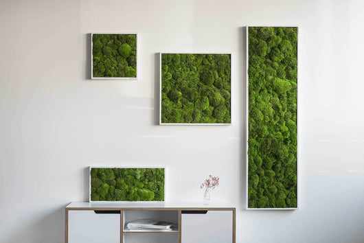 nature Wall Decor, Green Square Moss Art, beautiful natural decor, nature inspired designs, best home decor, Forest Homes