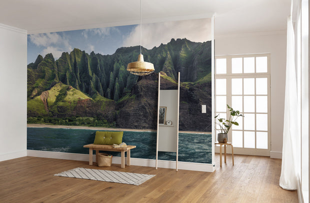 nature Wall Decor, Fantasy at Bay Mural Wallpaper, beautiful natural decor, nature inspired designs, best home decor, Forest Homes
