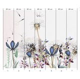 nature Wall Decor, Fiore Blu Mural Wallpaper, beautiful natural decor, nature inspired designs, best home decor, Forest Homes