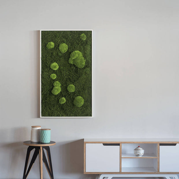 nature Wall Decor, Forest Dawn Moss Decor Wall Art, beautiful natural decor, nature inspired designs, best home decor, Forest Homes