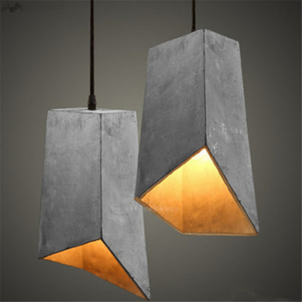 nature Lighting, Georgia Concrete Hanging Lights, beautiful natural decor, nature inspired designs, best home decor, Forest Homes