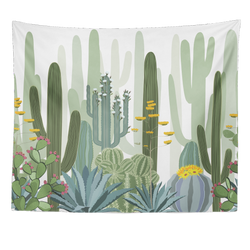 Nature decor, Wall Decor, Golden Cactus Tapestry, Beautiful Natural Decor, Nature inspired Design, home decor, Forest Homes