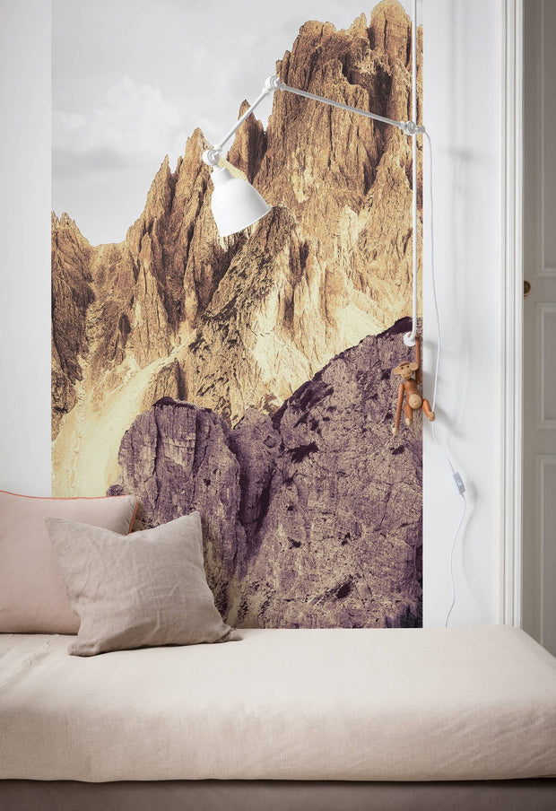 nature Wall Decor, High Colour Rock Wallpaper Mural, beautiful natural decor, nature inspired designs, best home decor, Forest Homes