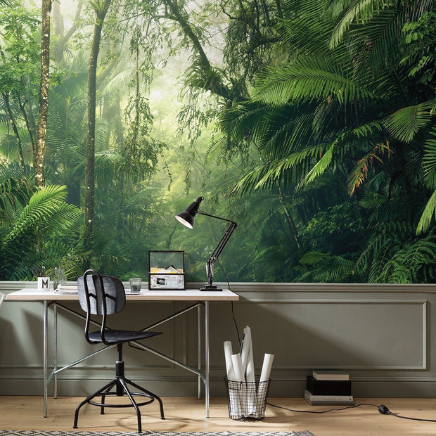 nature Wall Decor, Into the Wild Mural Wallpaper, beautiful natural decor, nature inspired designs, best home decor, Forest Homes