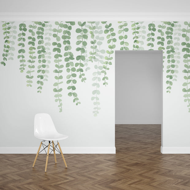 nature Wall Decor, String of Pearls Mural Wallpaper (m²), beautiful natural decor, nature inspired designs, best home decor, Forest Homes