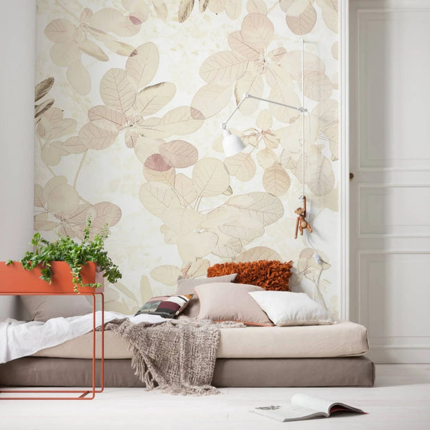 nature Wall Decor, Leaf Rich Mural Wallpaper, beautiful natural decor, nature inspired designs, best home decor, Forest Homes