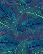 nature Wall Decor, Tropical Leaf Wallpaper Mural, beautiful natural decor, nature inspired designs, best home decor, Forest Homes