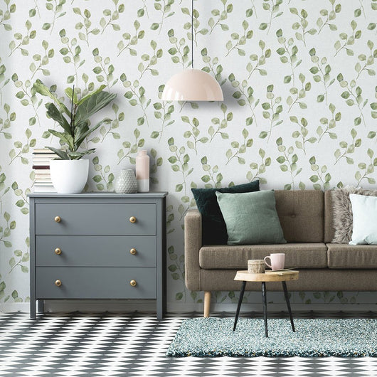 nature Wall Decor, Lo Capo Green Mural Wallpaper, beautiful natural decor, nature inspired designs, best home decor, Forest Homes