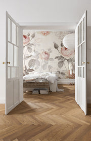 nature Wall Decor, Maison Flower Mural Wallpaper, beautiful natural decor, nature inspired designs, best home decor, Forest Homes