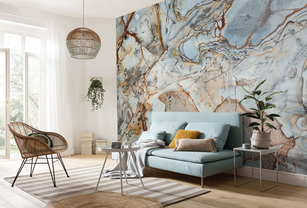 nature Wall Decor, Marble Med Mural Wallpaper, beautiful natural decor, nature inspired designs, best home decor, Forest Homes