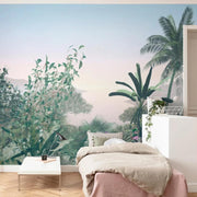 nature Wall Decor, Morning Delight Mural Wallpaper, beautiful natural decor, nature inspired designs, best home decor, Forest Homes