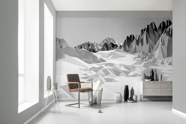 nature Wall Decor, Mountain Architecture Mural Wallpaper, beautiful natural decor, nature inspired designs, best home decor, Forest Homes
