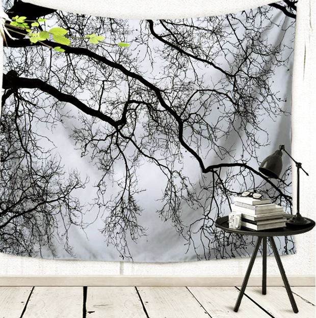 nature Wall Decor, Foresta Nera Tapestry, beautiful natural decor, nature inspired designs, best home decor, Forest Homes