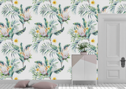 nature Wall Decor, Paradise Hage Mural Wallpaper (m²), beautiful natural decor, nature inspired designs, best home decor, Forest Homes