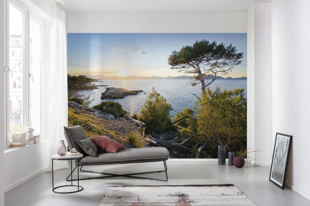 nature Wall Decor, Reflecting Nature Mural Wallpaper, beautiful natural decor, nature inspired designs, best home decor, Forest Homes