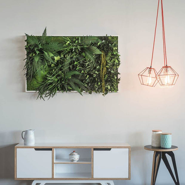 nature Wall Decor, Rena Jungle Plant Wall Art, beautiful natural decor, nature inspired designs, best home decor, Forest Homes