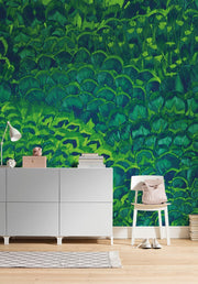 nature Wall Decor, Soothing Feathers Mural Wallpaper, beautiful natural decor, nature inspired designs, best home decor, Forest Homes