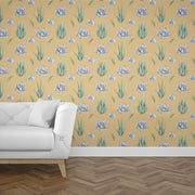 nature Wall Decor, Succulent Cactus Mural Wallpaper (m²), beautiful natural decor, nature inspired designs, best home decor, Forest Homes