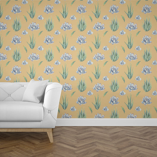 Nature decor, Wall Decor, Succulent Cactus Mural Wallpaper (m²), Beautiful Natural Decor, Nature inspired Design, nature wallpaper, floral wallpaper, forest wallpaper, mural wallpaper, nature canvas, canvas prints, nature tapestries, glass terrariums, home decor, Forest Homes