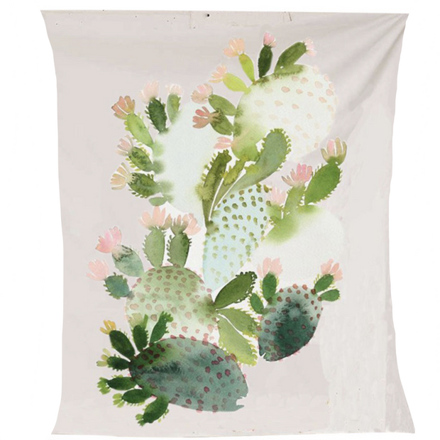 nature Wall Decor, Fleshy Cactus Tapestry, beautiful natural decor, nature inspired designs, best home decor, Forest Homes