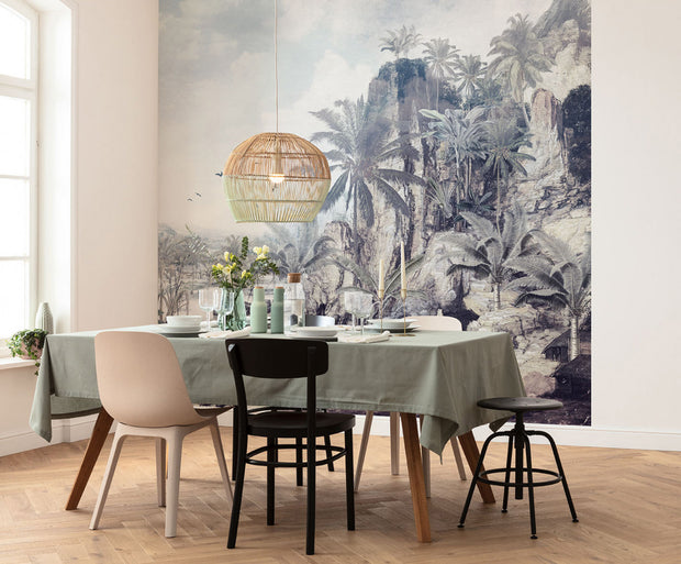 Tropical Colony Mural Wallpaper