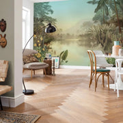 nature Wall Decor, Tropical Waters Mural Wallpaper, beautiful natural decor, nature inspired designs, best home decor, Forest Homes