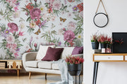 nature Wall Decor, Verdi Butterfly Wallpaper Mural, beautiful natural decor, nature inspired designs, best home decor, Forest Homes