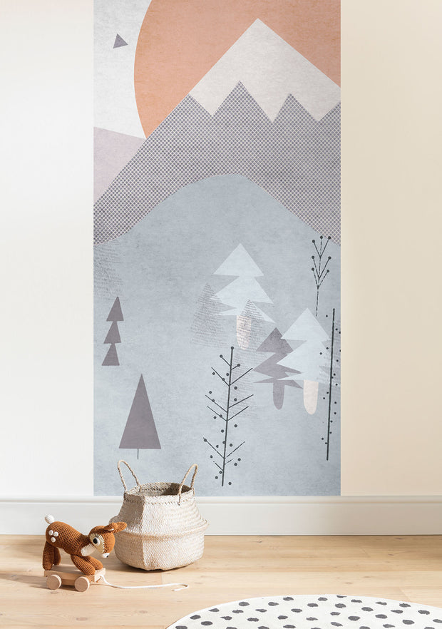 nature Wall Decor, Wild and Free Mural Wallpaper, beautiful natural decor, nature inspired designs, best home decor, Forest Homes