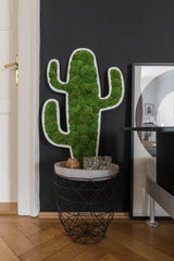 nature Wall Decor, Green Moss Cactus Picture, beautiful natural decor, nature inspired designs, best home decor, Forest Homes