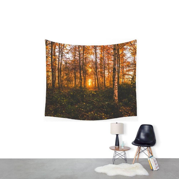 nature Wall Decor, Otto Tapestry, beautiful natural decor, nature inspired designs, best home decor, Forest Homes