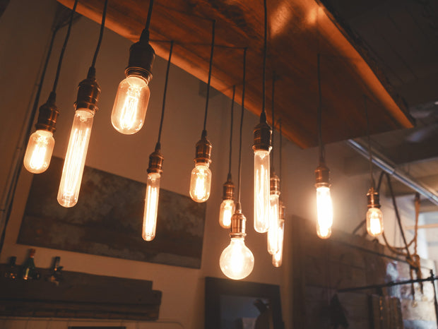 nature Lighting, Save Energy! Edison Light Bulbs - T125, beautiful natural decor, nature inspired designs, best home decor, Forest Homes