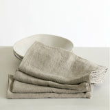 nature Cooking and Eating, Linnea Cloths Pure Linen Napkin Set (Set of 2), beautiful natural decor, nature inspired designs, best home decor, Forest Homes