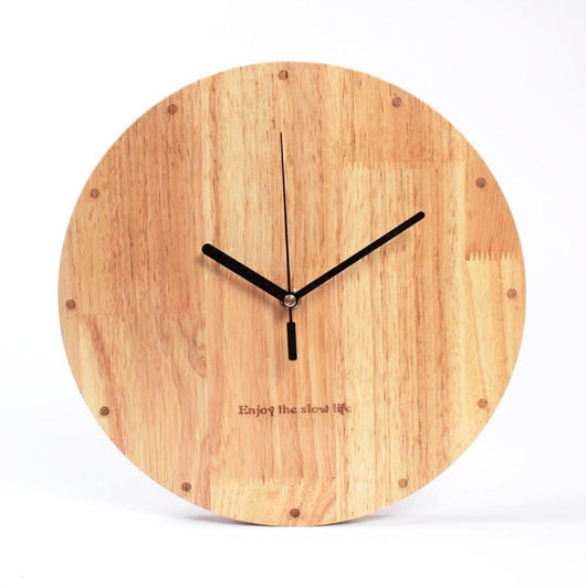 Forest Homes Products Abies Of Denmark Wall Clock Wooden Clock