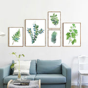 nature Wall Decor, Lady Fern Canvas Prints, beautiful natural decor, nature inspired designs, best home decor, Forest Homes