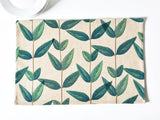 Nature decor, Table Decor, Leaves of Sciadopitys Linen Placemats, Beautiful Natural Decor, Nature inspired Design, home decor, Forest Homes