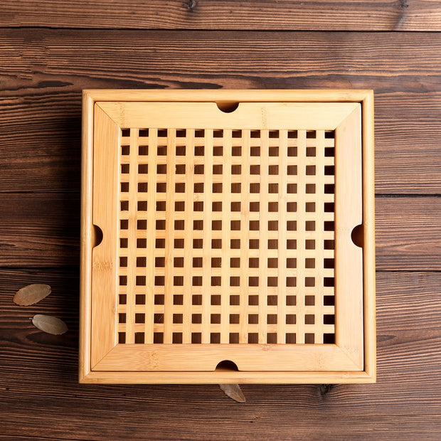 nature Cooking and Eating, Farguesia Handmade Bamboo Tea Tray, beautiful natural decor, nature inspired designs, best home decor, Forest Homes