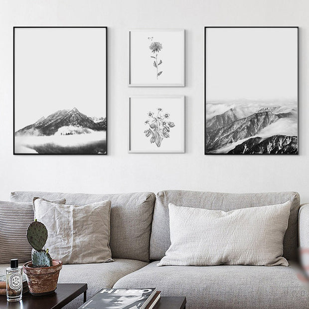 nature Wall Decor, Tundra Canvas Prints, beautiful natural decor, nature inspired designs, best home decor, Forest Homes